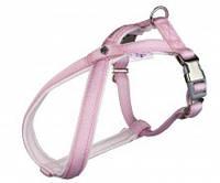 16525 Trixie Шлея Harness Dog Princess розовая, 20-36см/10мм