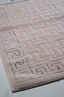 Набор ковриков для ванной GREECE (60*100, 50*60) розовый