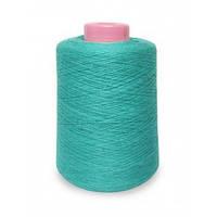 Пряжа  55 хлопок 45 акрил Agatha Cotton Soft (голубая)