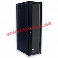 """Шкаф 19"""" 45U, 610х865 мм (Ш*Г), усиленный, черный (UA-MGSE4568MB)"""