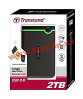 Внешний жесткий диск Transcend StoreJet 2.5 USB 3.0 2TB серия M (TS2TSJ25M3)
