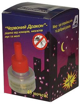"""Жидкость для фумигатора """"Красный Дракон"""", 45 ночей"""
