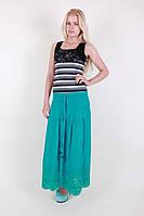 Длинная женская юбка 7093