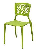 Стул Спайдер пластик зеленый (Domini TM)