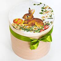 Деревянная шкатулка Пасхальный кролик