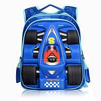 Детский рюкзак с ортопедической спинкой Машина