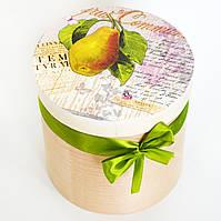 Деревянная шкатулка Десертная груша