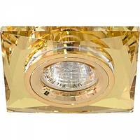 Точечный светильник Feron 8150-2 жёлтый золото, фото 1