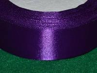 Стрічка атласна 25 мм ( 23 метри) фіолетовий 16314