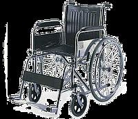 Инвалидная коляска с фиксированной подставкой для ног и съемными подлокотниками ReMED