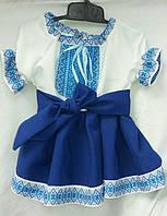 Красивое платье-вышиванка для девочки