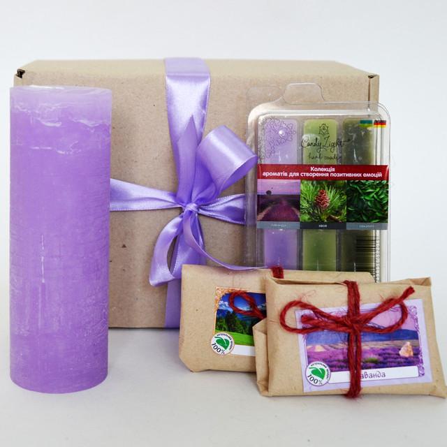 Подарочный набор лавандовый