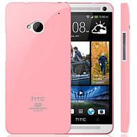 ТПУ накладка Mercury Jelly для HTC One (Baby Pink)