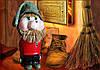 Бутылка оберег Каждому дому-по Домовому Сувенир в национальном стиле Славянские обереги