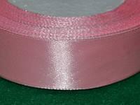 Стрічка атласна 25 мм ( 23 метри) ніжно - рожевий 16319