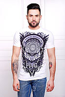 Мужская футболка Сова Men-2B