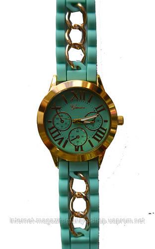 Часы наручные женские Geneva с цепочкой