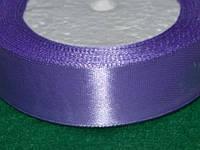 Лента атласная 25 мм ( 23 метра) нежно - фиолетовый 16322