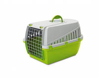 Savic ТРОТТЭР1 (Trotter1) переноска для собак и котов, пластик, 49Х33Х30 см. оливковый