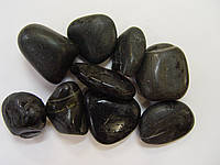 Галька, 1х2 см, черная