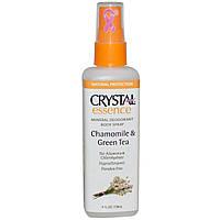 """Дезодорант Crystal (Кристалл) спрей, """"Ромашка и зеленый чай"""", 118мл., CRYSTAL"""