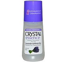 "Дезодорант-рол для тела Crystal (Кристалл) ""Лаванда и белый чай"", 66мл., CRYSTAL"