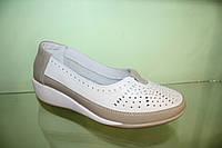 Туфли женские белые мод 90108