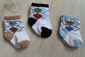 Носки для новорожденных 0-3 месяца