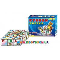 Кубики Украинская азбука Технок 0212