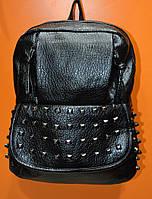 Рюкзак  молодежный, женский  черный