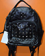 Рюкзак - мини молодежный черный