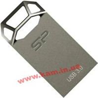 USB флеш накопитель Silicon Power 16GB Jewel J50 USB 3.0 Titanium (SP016GBUF3J50V1T)