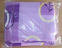 Постільна білизна Євро розміру жатка Тирасполь на бузковому абстракція