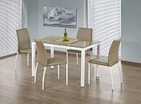 Стеклянный стол Timber (Halmar)