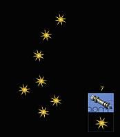 МАЛАЯ МЕДВЕДИЦА - хрустальные звёзды, FIBERSKY