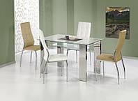 Стеклянный стол Topaz (Halmar)