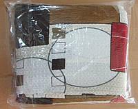 Постельное белье Евро размера жатка Тирасполь цветная абстракция
