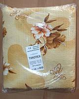 Постільна білизна Євро розміру жатка Тирасполь бежеві квіти
