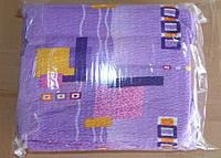 Постельное белье Евро размера жатка Тирасполь цветные кубики на сиреневом