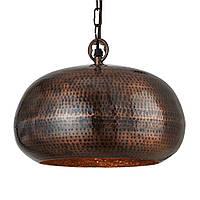 Светильник потолочный купол Loft [ Hammered Pendants ] (antique bronze)