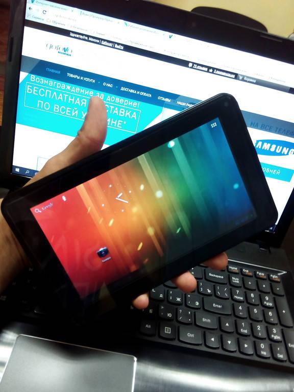 Замена батареи на планшете Globex GU702R