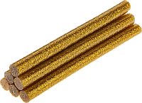 Стержни клеевые золотые с блестками 11х100 мм Topex 42E191 комплект из 6 шт
