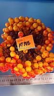 Оранжевая ягода на проволоке