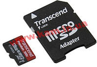 Карта памяти Transcend Ultimate microSDXC 128GB Class 10 UHS-I U3 R95/ W85MB/ s 4K Vid (TS128GUSDU1)