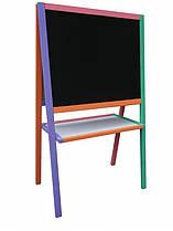 Мольберт двухсторонний разноцветный - 3249