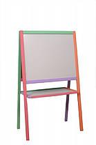 Мольберт двухсторонний  разноцветный - 3250