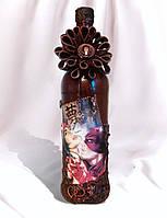 Подарункове оформлення пляшки Пристрасть Подарунки для закоханих на річницю 8 березня день народження, фото 1