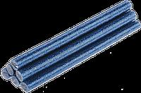 Стержни клеевые синие с блестками 8х100 мм Topex 42E185 комплект из 6 шт