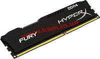 Оперативная память Kingston HyperX Fury BLACK DDR4 4GB 2666MHz (HX426C15FB/4)