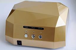 Сенсорнная гибридная  LED+CCFL лампа для ногтей 36 W, Diamond